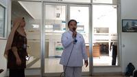 Wita Tamala, seorang petugas Rumah Sakit Umum Pusat (RSUP) Persahabatan, Jakarta Timur (Foto:Liputan6/Fachrur Rozie)