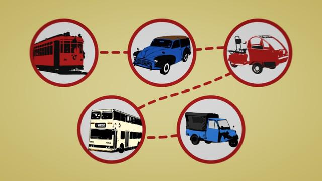 Angkutan umum menyesaki jalanan Jakarta setiap hari. Selang waktu berganti, banyak angkutan menepi karena kerap uzur dimakan umur.