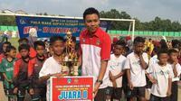 Pemilik sekolah sepak bola (SSB) Bintang Putra Melati Sleman, Ariono. (Istimewa/dokumen pribadi)