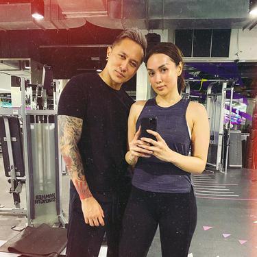 Demian Aditya dan Sara Wijayanto. (Foto: Instagram @_demianaditya_)