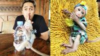 Potret Candy Laura, Monyet Pantai Peliharaan Irfan Hakim yang Jadi Sorotan. (Sumber: Instagram/irfanhakim75)