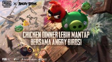 PUBG Mobile berkolaborasi dengan Angry Birds
