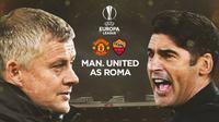 Liga Europa - Manchester United Vs AS Roma - Head to Head Pelatih (Bola.com/Adreanus Titus)