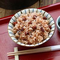 Ilustrai nasi dan kacang merah./Copyright shutterstock.com/g/bonchan