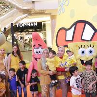 """Christmas Celebration with Nickelodeon Spongebob 20 Best Year Ever"" di Kota Kasablanka. Sumber foto: Document/Kota Kasablanka."