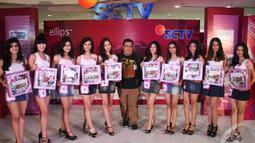 Para butet cantik ini sempat membuat dewan juri kebingungan karena talenta yang mereka miliki nyaris sama baik, Plaza Medan Fair, Medan, Sumatera Utara, Minggu (14/9/2014) (Faizal Fanani)