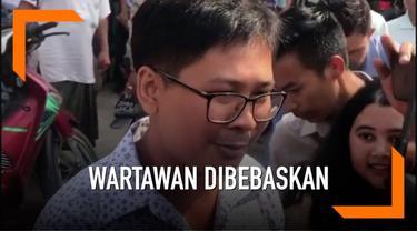 Pemerintah Myanmar membebaskan dua wartawan Rueters yang sebelumnya didakwa melanggar undang-undang kerahasiaan negara.