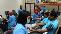 293 Kantong Darah Terkumpul dalam Aksi Donor Darah  YPAPK