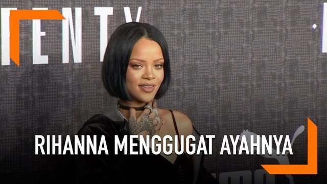 Gara-gara nama belakang, Rihanna menggugat ayah kandungnya sendiri. Ayah kandung Rihanna membuat nama perusahaan dengan nama belakang keluarga.