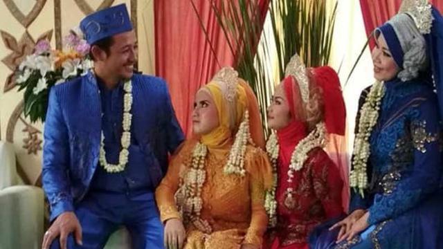 Heboh Foto Pria Menikah Dengan 3 Wanita Sekaligus Ini Faktanya Citizen6 Liputan6 Com