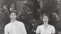 Song Joong Ki dan Song Hye Kyo kini tengah disibukkan dengan jadwal pekerjaan mereka masing-masing. Song Joong Ki sendiri tengah sibuk shooting untuk drama terbarunya yang berjudul Arthdal Chronicles. (Liputan6.com/IG/songjoongkionly)