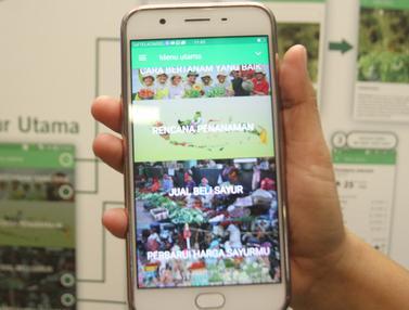 Permudah Akses Informasi, Ini Aplikasi Untuk Petani