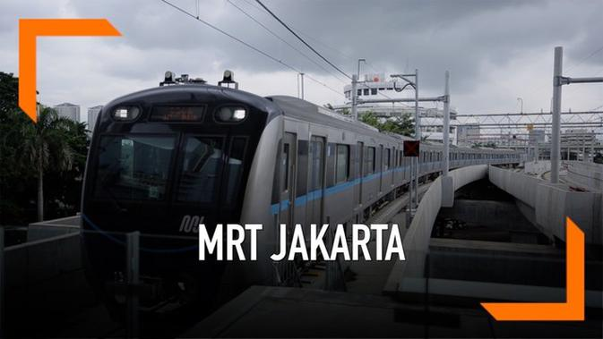 VIDEO: Catat, 8 Larangan Sesaat Naik MRT Jakarta