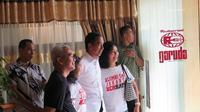 Capres petahana Jokowi. (Liputan6.com/Lizsa Egeham)