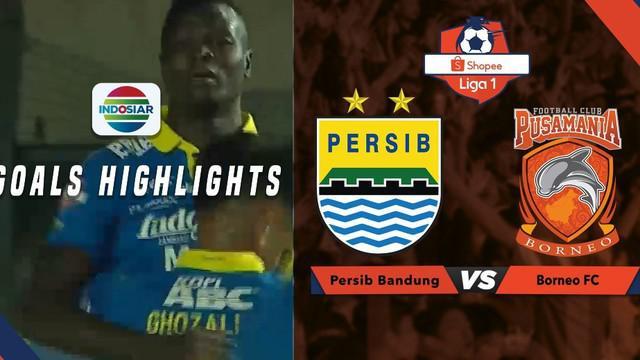Berita video gol-gol yang tercipta saat Persib Bandung ditahan imbang 2-2 oleh Borneo FC dalam lanjutan Shopee Liga 1 2019, Rabu (14/8/2019).