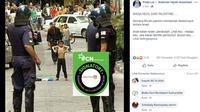 [Cek Fakta] Gambar Tangkapan Layar Seorang Anak Menantang Petugas Kepolisian