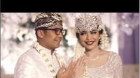 Akad nikah mantan Kapolsek Kembangan Kompol Fahrul Sudiana dan selebgram Rica Andriani yang digelar di hotel bintang lima di kawasan Senayan. (dok. Instagram @dndweddingorganizer/https://www.instagram.com/p/B-YRyZkjwMZ/Dinny Mutiah)