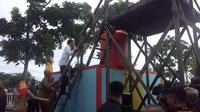 Hari ini, Senin (5/12), Presiden Jokowi melakukan blusukan ke Balikpapan, Kalimatan Timur. (Via: liputan6.com)
