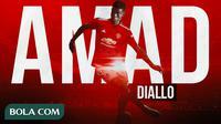 Manchester United - Amad Diallo (Bola.com/Adreanus Titus)