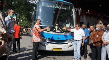 Peresmian Batik Solo Trans Koridor 3 dan 4