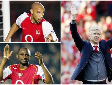 Foto: Nostalgia Kejayaan Arsenal, 6 Pemain Bintang Era Arsene Wenger Kala The Gunners Digdaya di Liga Inggris