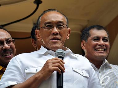 Ketua Umum Partai Golkar Aburizal Bakrie atau Ical. (Liputan6.com/Miftahul Hayat)