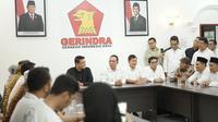 Bobby mendaftar ke kantor Dewan Perwakilan Daerah (DPD) Gerindra Sumatera Utara (Sumut) di Jalan DI Panjaitan, Kota Medan, pada Kamis, 16 Januari 2020.