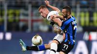 9. Dejan Kulusevski (Parma) - Dejan Kulusevski sering menjadi andalan Parma pada musim 2019-2020. Pemain sayap berusia 19 tahun itu sudah tampil sebanyak 14 laga dengan total menit bermain 1.523.(AFP/ Miguel Medina)
