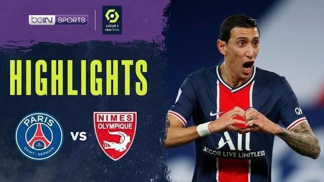 Berita Video Highlights Liga Prancis, PSG Kalahkan Nimes Tiga Gol Tanpa Balas (4/2/2021)