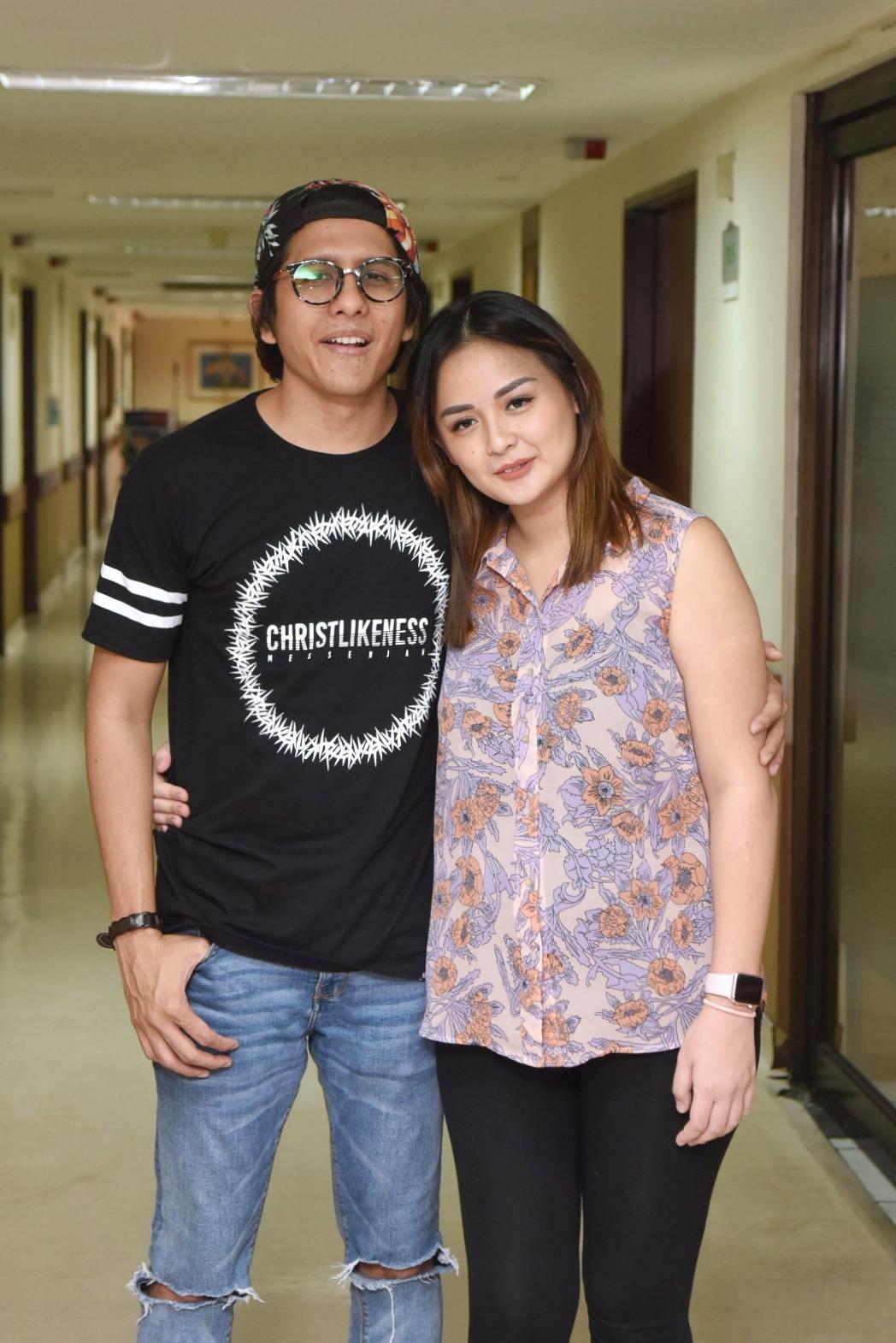 Joanna Alexandra dan suami. (Adrian Putra/Bintang.com)