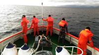 Cuaca buruk mengancam pelayaran di perairan Maluku Utara. (Liputan6.co/Hairil Hiar)