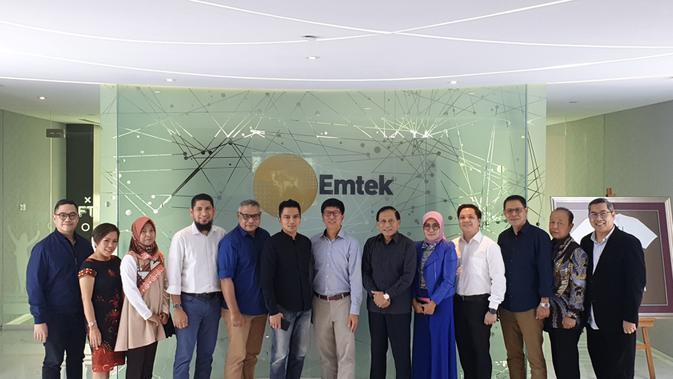 EMTK SCMA Kunjungi Grup Emtek, KPI Apresiasi Tayangan SCTV dan Indosiar - News Liputan6.com