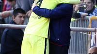 Rakitic mencetak satu gol saat bertanding melawan Granada.
