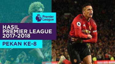 Hasil Premier League 2018-2019 pekan ke-8. Manchester United menang dramatis 3-2 dari Newcastle United setelah tertinggal 2 gol di babak pertama.