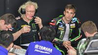 Johann Zarco dan Tech 3 tak akan lagi menggunakan motor Yamaha di MotoGP 2019 (MOHD RASFAN / AFP)
