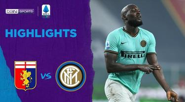 Berita Video Kalahkan Genoa, Inter Milan Dekati Juventus Dipuncak Klasemen Serie A