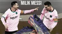 Mencicipi Sepatu Rp 2,5 M Milik Messi