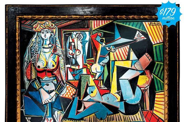 Lukisan Pablo Picasso berjudul Les Femmes d'Alger (Version