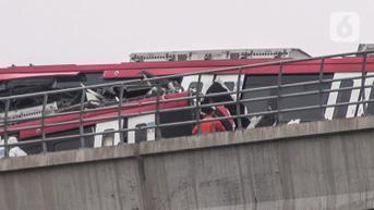 Diduga Human Error, Kasus Tabrakan LRT Cibubur Mirip Kecelekaan di Malaysia