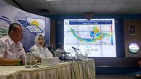 Kepala Badan Meteorologi, Klimatologi dan Geofisika (BMKG) Dwikorita Karnawati. (Liputan6.com/Putu Merta Surya Putra)