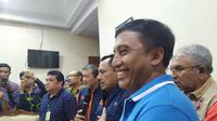 Pemerintah Provinsi Jawa Timur (Pemprov Jatim) memfasilitasi kedatangan warga Jawa Timur yang sudah menjalani masa observasi di Natuna, Kepulauan Riau. (Foto: Liputan6.com/Dian Kurniawan)