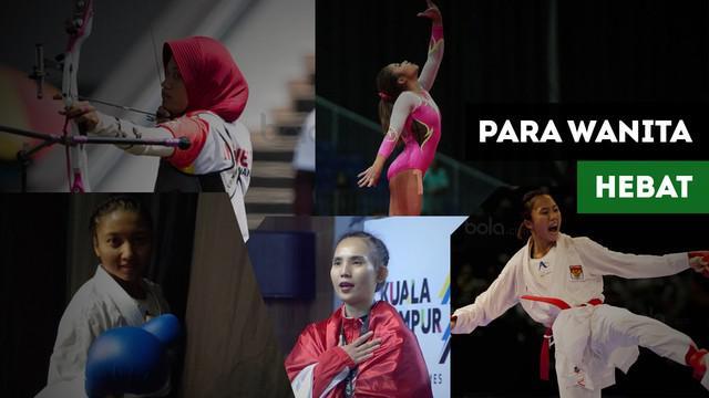 Berita video para atlet wanita yang berprestasi dan mengharumkan nama Indonesia di SEA Games 2017.