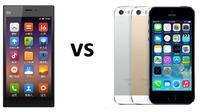 Foto: ilustrasi Apple vs Xiaomi (gizmochina.com)