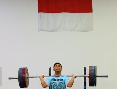 20160621-Tim Angkat Besi Indonesia Siap Berlaga di Olimpiade Rio 2016