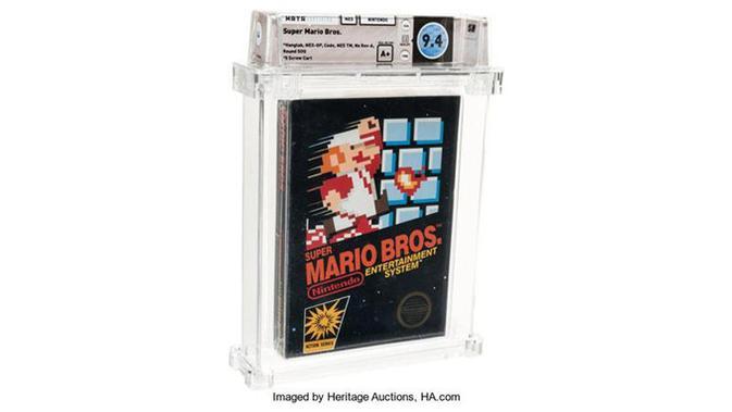 Super Mario Bros 3 Jadi Gim Termahal dalam Lelang