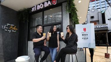 Kulo Group dan Mitra Boga Ventura (MBV) yang megembangkan minuman segar boba. Dok