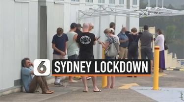 Munculnya klaster baru Covid-19 di bagian pantai utara Sydney, Australia membuat kebijakan lockdown akan diberlakukan sebagian. Warga diminta tetap di dalam rumah mulai hari Sabtu hingga Rabu (23/12).