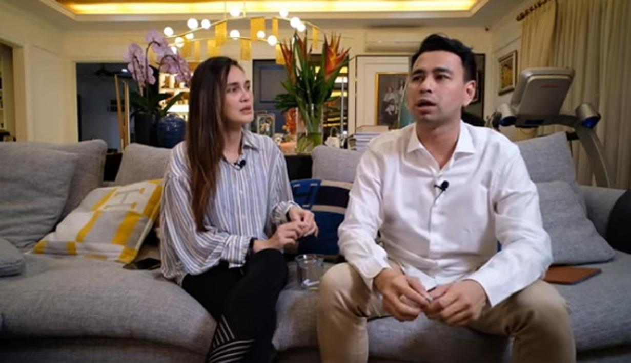 Luna Maya dan Raffi Ahmad (Youtube/Luna Maya)