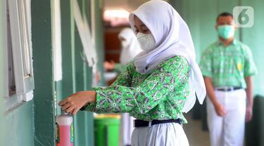 FOTO: Penerapan Belajar Tatap Muka dengan Protokol Kesehatan COVID-19