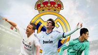 Real Madrid - Michael Owen, Kaka, James Rodriguez (Bola.com/Adreanus Titus)
